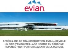 EVIAN Bottling plant